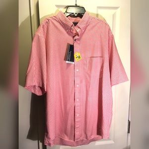 ROUNDTREE & YORKE ULTRAVIOLET PROTECT SHIRT SZ L